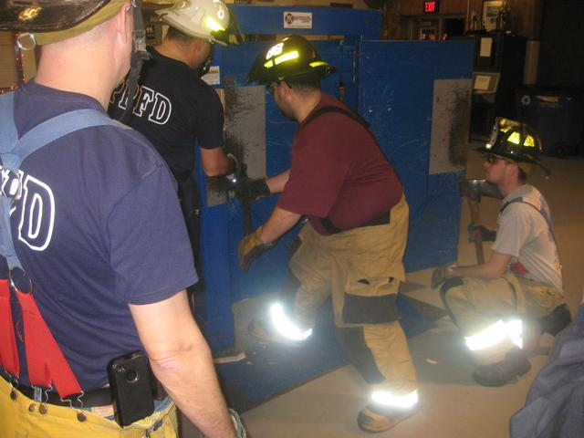 Advanced Forcible Entry Training Bethel Fire Company