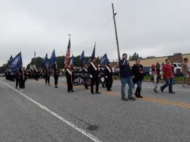 Bethel Township Board of Supervisors and Garnet Valley High School Marching Band