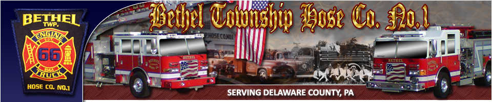 Bethel Township Hose Company No.1 Engine Rescue - Delaware County, PA Station 66